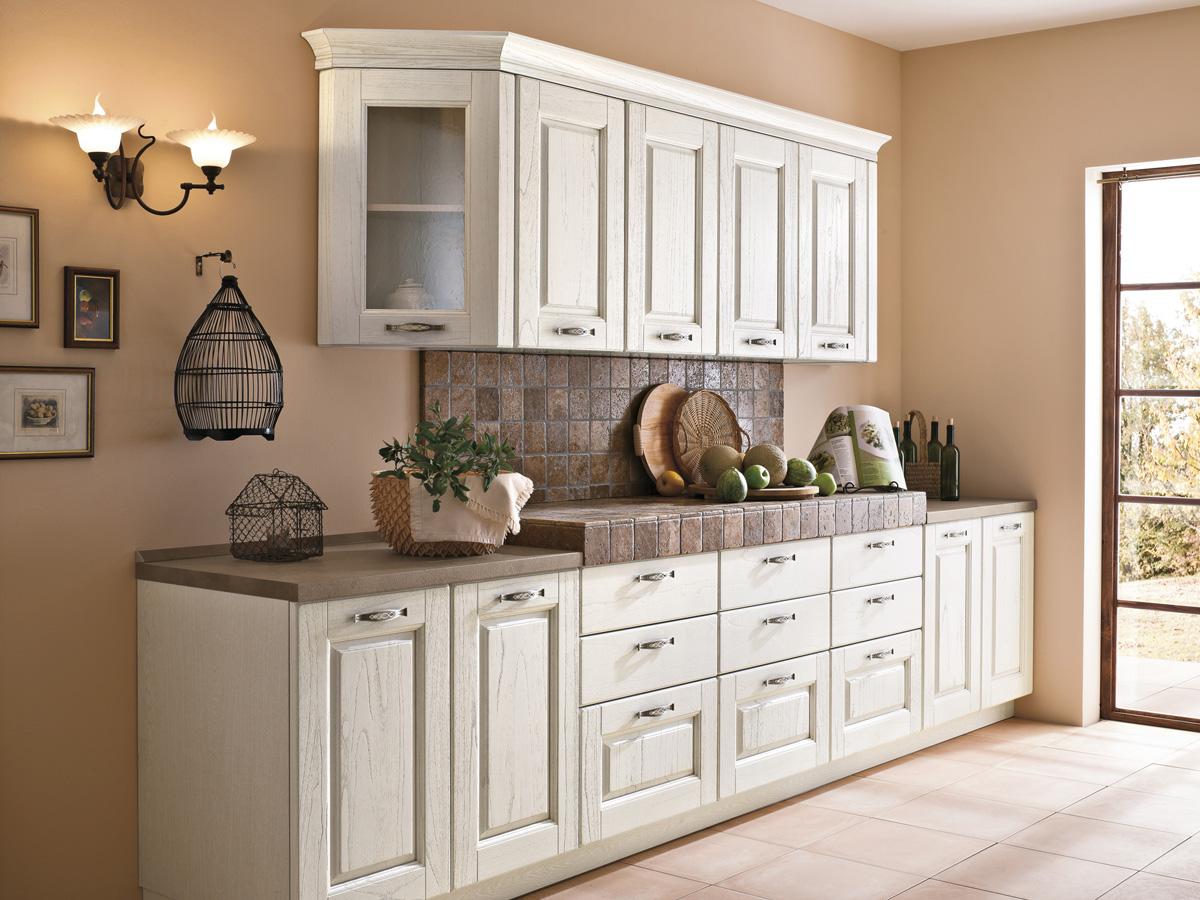 Cucine in legno classiche